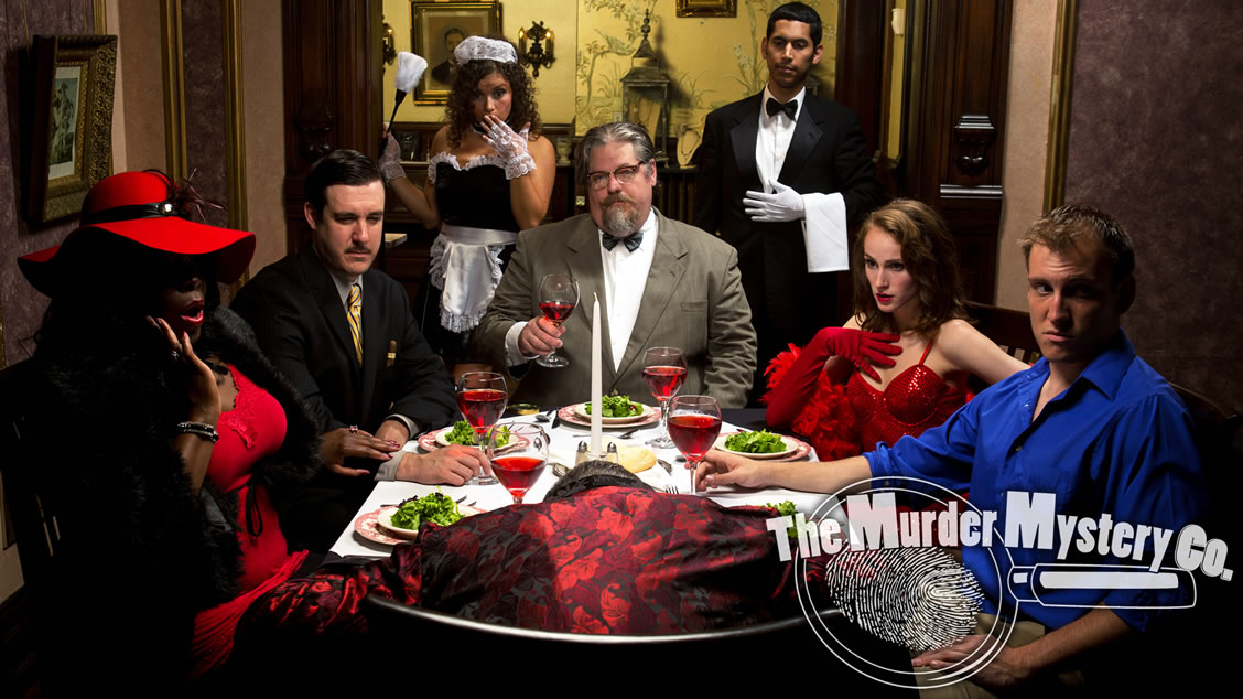 Murder mystery party themes